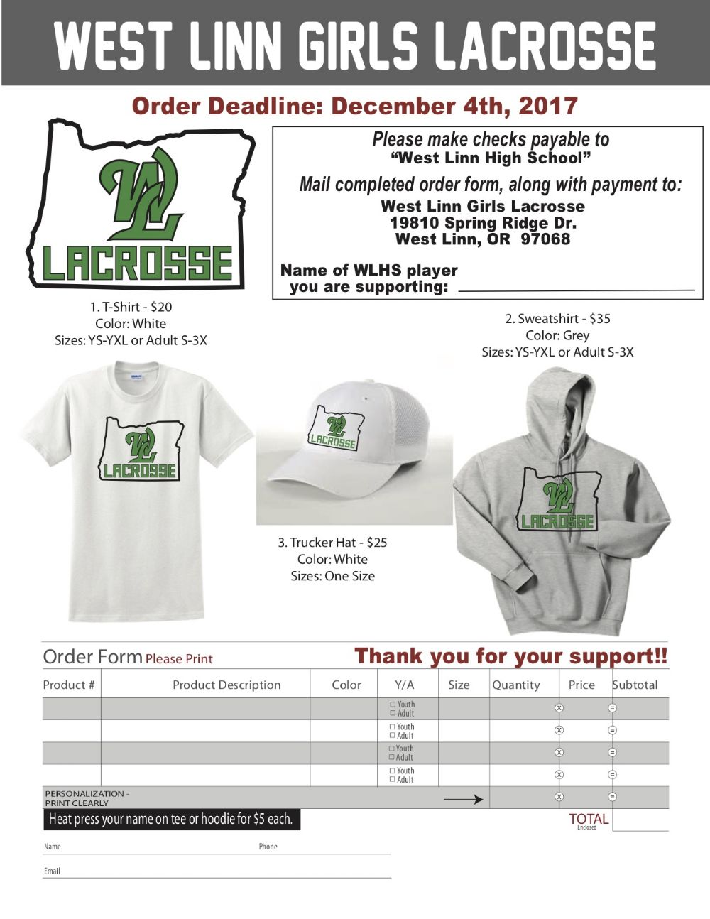 west linn girls The latest tweets from west linn girls lax (@wlgirlslax) official twitter account for west linn girls lacrosse in west linn, or home of the 2013 & 2015 ogla state champs.
